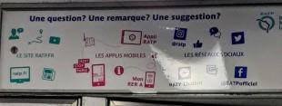 Besoin d'une info sur le réseau RATP? Mieux vaut être bien connecté